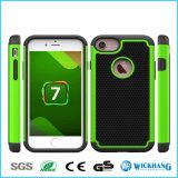 Caisse en caoutchouc hybride antichoc de téléphone pour l'iPhone 8
