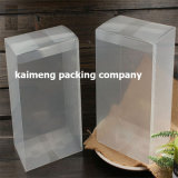 Cadre se pliant clair transparent pur d'empaquetage en plastique d'animal familier dans 15X15X20cm (cadre d'empaquetage en plastique)