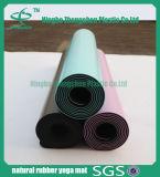 Couvre-tapis en caoutchouc de yoga d'unité centrale d'anti glissade professionnelle en gros