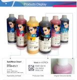 Tinta de la sublimación del tinte de Inktec para la impresión de la impresora de Rolando Mimaki Mutoh