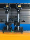 La commande numérique par ordinateur appuient la machine à cintrer de frein/plaque hydraulique servo