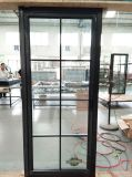 Шикарное конструированное двойное стеклянное алюминиевое французское окно с ценой по прейскуранту завода-изготовителя