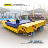 Do carro elétrico de transferência do portador do carro de trilho da carga pesada de 100 toneladas manipulação material