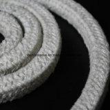 Corda della fibra di ceramica dei materiali di isolamento termico con inossidabile della vetroresina di rinforzo