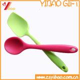 FDA / Food Grade кухонных простой очистки силиконовые ложки / Детский ложкой/ суп ложкой, рис выложите, салат ложкой (YB-HR-23)