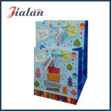 Il colore metallico stampato di timbratura caldo personalizza il sacco di carta poco costoso di marchio