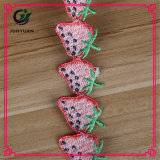 Form-Polyester Strassberry Muster-dekorative Spitze-Ordnung