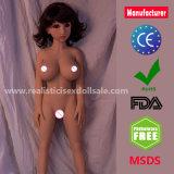 고품질 100% 가득 차있는 실리콘 스테인리스 해골을%s 가진 실제적인 성 인형