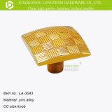 Punho dourado da liga do zinco do tamanho diferente