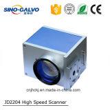 Explorador de alta velocidad del Galvo Jd2204 para la máquina de la marca del laser