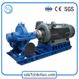 Pompa centrifuga di irrigazione di caso orizzontale con comando a motore elettrico di spaccatura