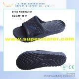 De Pantoffels van één Mens van EVA van de Injectie, het Duurzame en Comfortabele Aangepaste Embleem van Pantoffels Steun