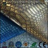 Form-Entwurf Belüftung-künstliches synthetisches Leder für Beutel und dekorativ