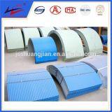 Galvanisierter Stahlförderanlagen-Schutz-Deckel, zum des regnenden Wassers zu stoppen