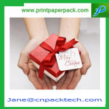 ボックス結婚式を包むキャンデーのお菓子屋のリングのイヤリングはギフト用の箱を支持する