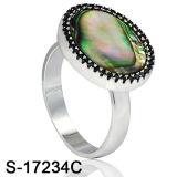 Nuovo anello dei monili dell'argento di modo di arrivo per l'uomo