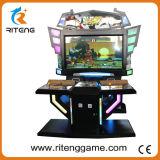Macchina elettronica del gioco di combattimento del Governo del combattente di via dello spingitoio della moneta 4 video