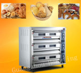 Horno eléctrico de la hornada de Commerical de 4 bandejas para el precio del equipo de la panadería