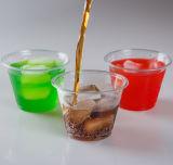 9oz Tasses en plastique transparent pour un café glacé, Bubble Boba Thé, smoothie