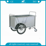 AG-Ss025 Ropa de Gran Capacidad Usados ​​Hospitall Laundry Cleaning Cart