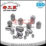 Цементированные кнопки карбида вольфрама для инструментов минирование