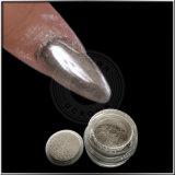 Silberner Spiegel-Maniküre-Staub-glänzendes Gel-Polnisch-Chrom-Pigment-Puder