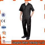 Coton de noir d'usine/combinaison personnalisés de travail sergé de polyester