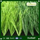 Césped durable del sintético del balompié de la hierba artificial natural del césped