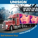 Foeco-Solvente auto-adhesivo impermeable de Rolls de la etiqueta engomada del vinilo e impresión ULTRAVIOLETA
