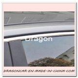 Protector flexible de la tira de borde del ajuste del PVC Chrom de DIY para la decoración de la ventana de coche