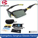 L'extrémité interchangeable détachable de lentilles de lentilles multi folâtre des lunettes de soleil