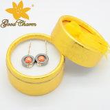 Htr-16122804 dernières boucles d'oreille de tourmaline design de mode