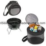 Древесный уголь для барбекю мини-гриль с охладителем и Carrybag идеально подходит для кемпинга и воспроизведения путем передачи Moskus Esg10166