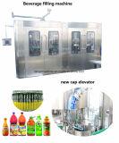 De volledige Auto4in1 Plastic Drank die van de Fles Machine Packging voor het Fruit van de Pulp vullen