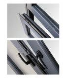 Guichet arqué de tissu pour rideaux d'inclinaison encadré par aluminium en verre et de spire