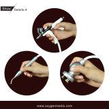 Tratamento com oxigênio para dobras de pele de endurecimento do aparelho de cabeleireiro