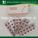 Le diclofénac sodique Tablet chimiques pharmaceutiques certifié BPF