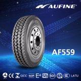 熱いパターン放射状のゴム製タイヤ、使用できる在庫が付いているトラックのタイヤ