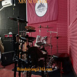 Sound-Absorbingパネルのウェッジ形の防音の音響のスタジオの泡