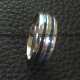 Anillo de dedo de pulido cómodo azul de la joyería de Placted (SSR2696)