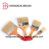 Деревянная щетка краски ручки (HYW0432)