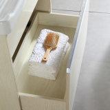Gabinete Multi-Layer Floor-Mounted da lavanderia da madeira contínua