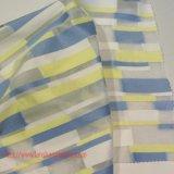 폴리에스테 직물 자카드 직물 예복용 와이셔츠 정장 의복 홈 직물을%s 직물에 의하여 염색되는 털실 직물 화학 직물 기하학적인 자카드 직물