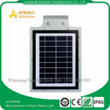 luz de rua 5W solar Integrated para o sistema de iluminação ao ar livre