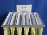 Il collettore di polveri industriale di filtro dell'aria Pocket F8 insacca il risparmio di temi di 95%