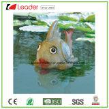 De hete Decoratie van de Vijver van het Beeldje van de Vissen van de Verkoop Drijvende die, van Pu en Polyresin wordt gemaakt