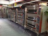 Four infra électrique commercial de professionnel du matériel 3-Deck de boulangerie avec du ce