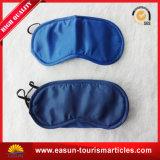 Linea aerea di viaggio personalizzata 100% della mascherina di occhio di promozione del cotone Eyemask