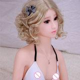 Muñeca erótica de la muchacha de Loli con el pecho plano del silicón de la muñeca sólida esquelética del sexo para los hombres