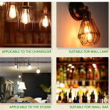 LED Filament Bulb Dimmable St64 E27 4W 8W